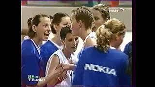 """EuroBasket Women 2003. Чемпионат Европы по баскетболу. Женщины. Финал. Россия - Чехия. ТК """"Спорт""""."""