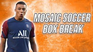 Panini Mosaic 2021 UEFA Euro Soccer Box Break With Mbappe !!