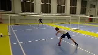 Polska moimi oczami. Klub badmintona Garnizon. Польша моими глазами. Клуб бадминтона Гарнизон.
